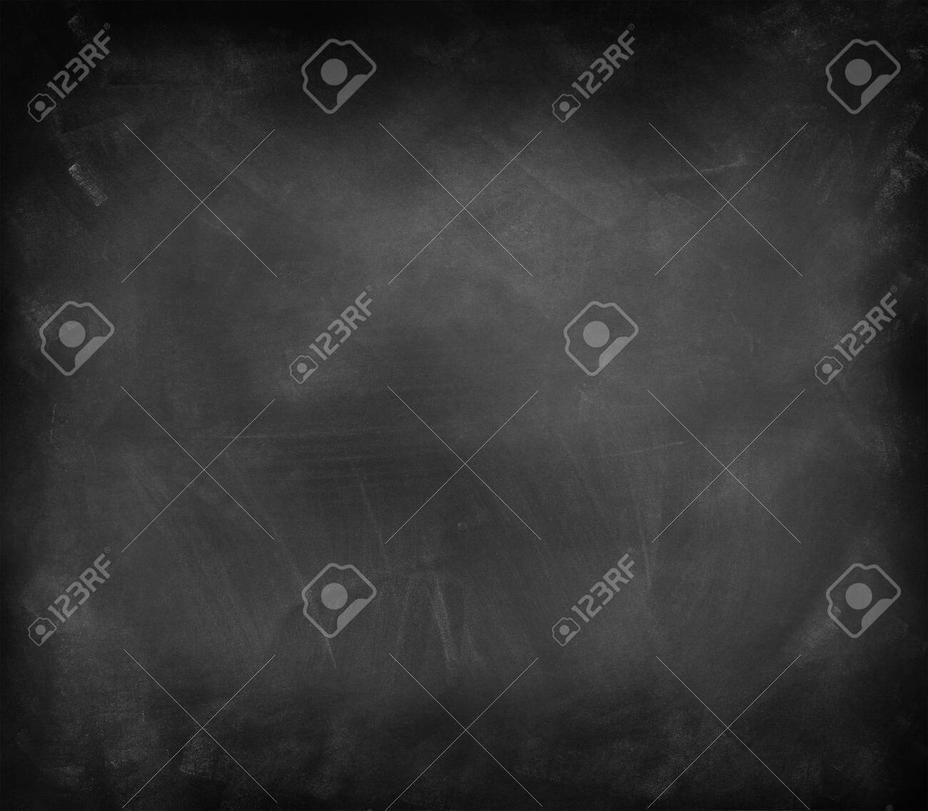 Chalk rubbed out on blackboard background - 135146497