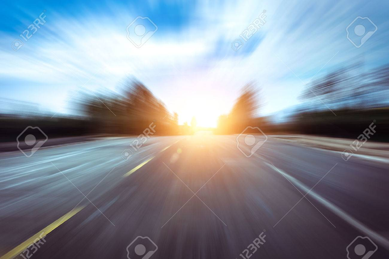 fast concept of roadway - 50663964