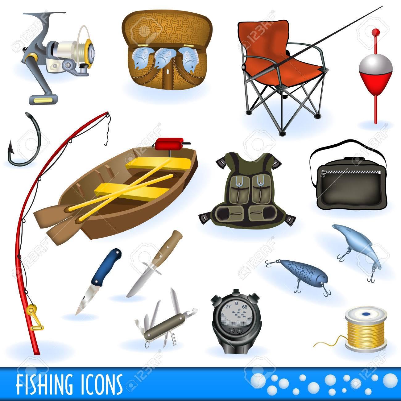 Fishing icons - 8307048