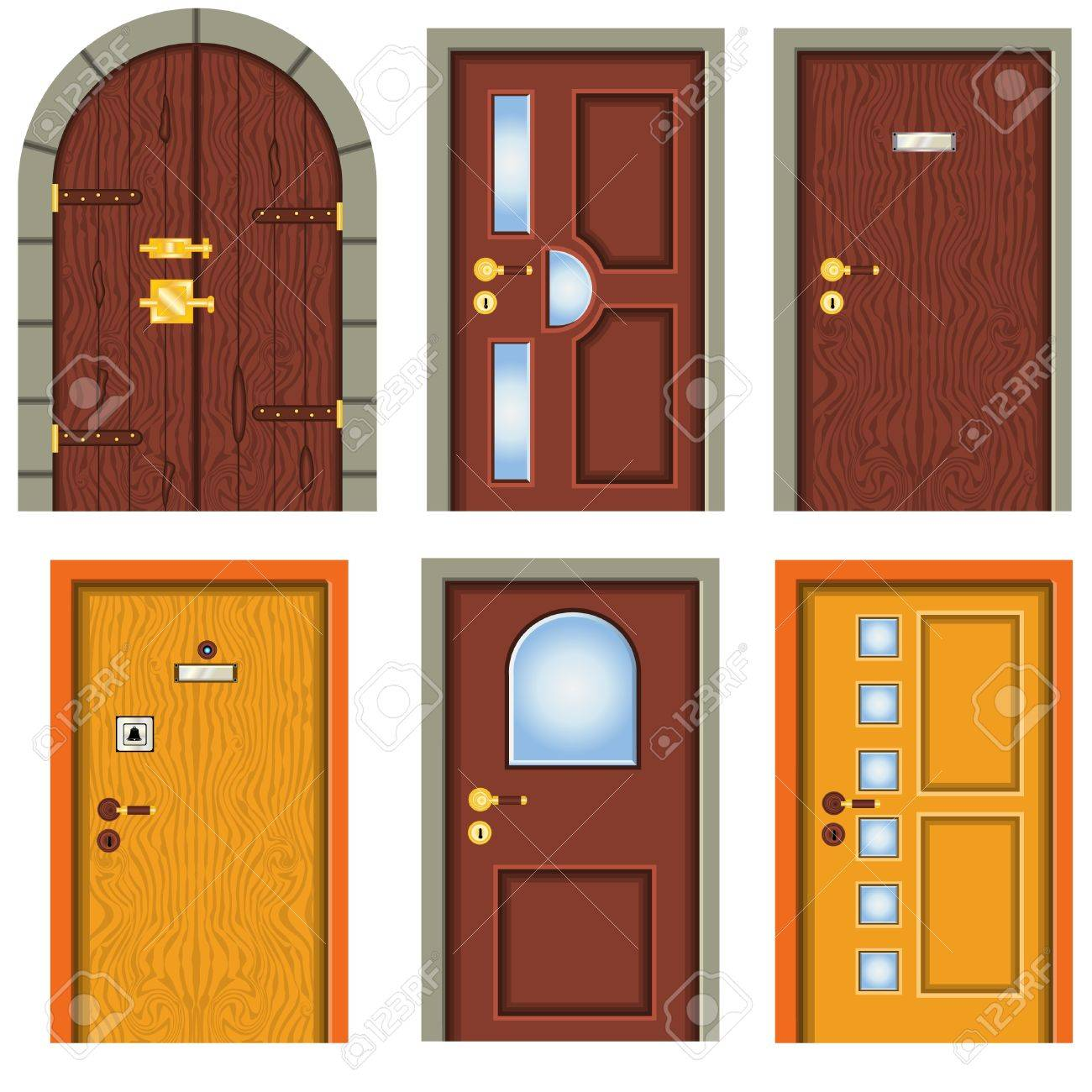 Collection of doors - 10228230