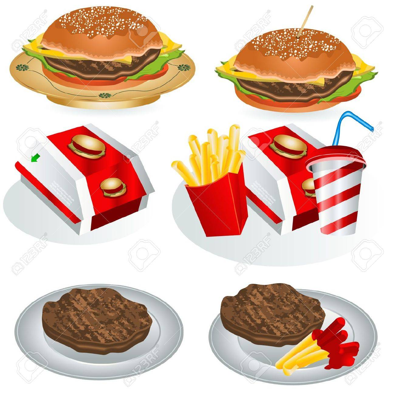 Fast Food Collection - 10644942