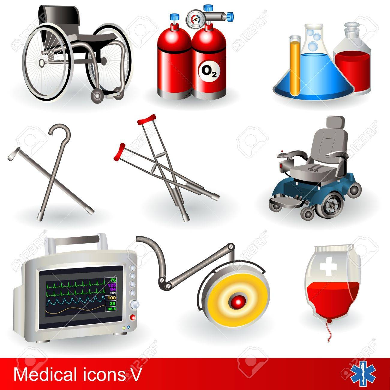 Collection of medical icons - part 5 - 13300921