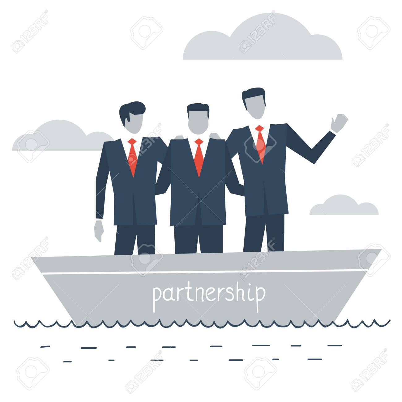 business partnership - 49589300