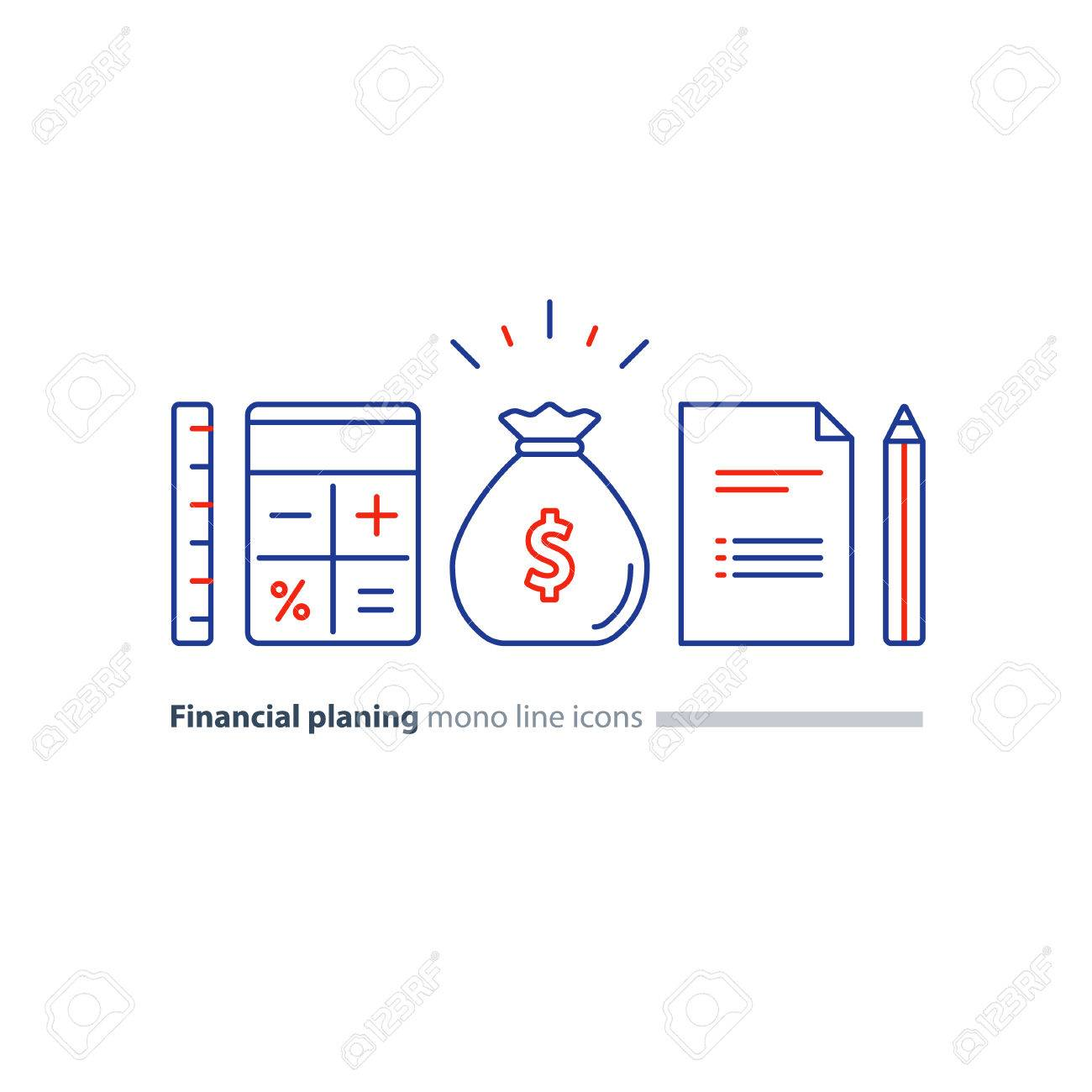 business plan concept budget planning financial education