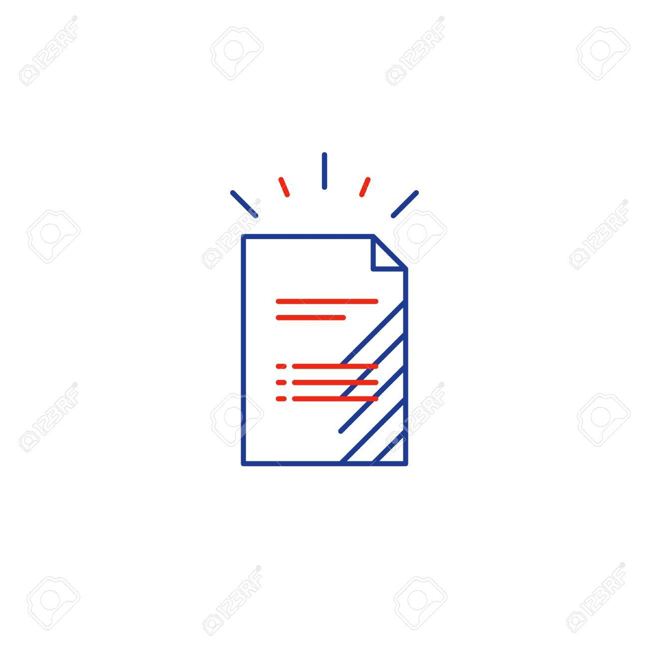 Document Sheet Resume Concept Application Form Business