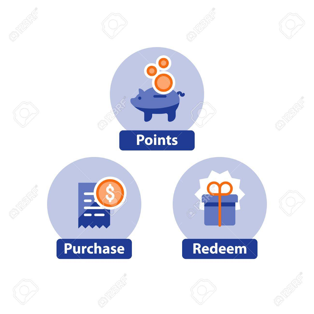 3661dbe698 Earn Points For Purchase Concept
