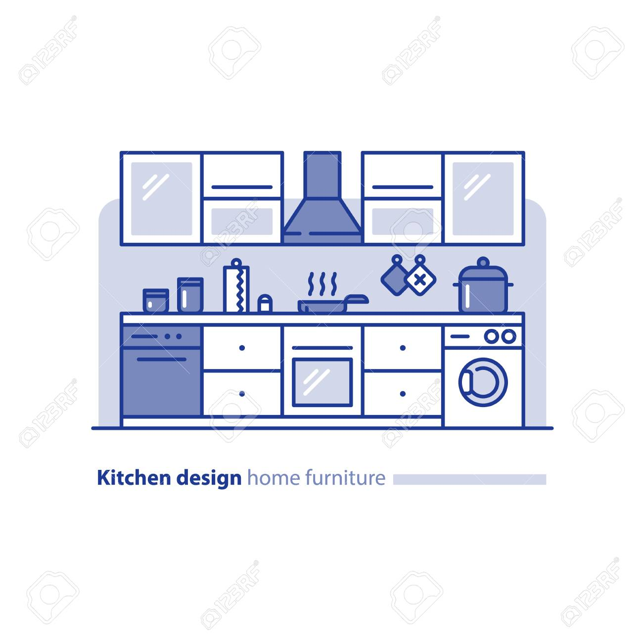 Kitchen Design Solution, Combination Idea, Home Furniture ...