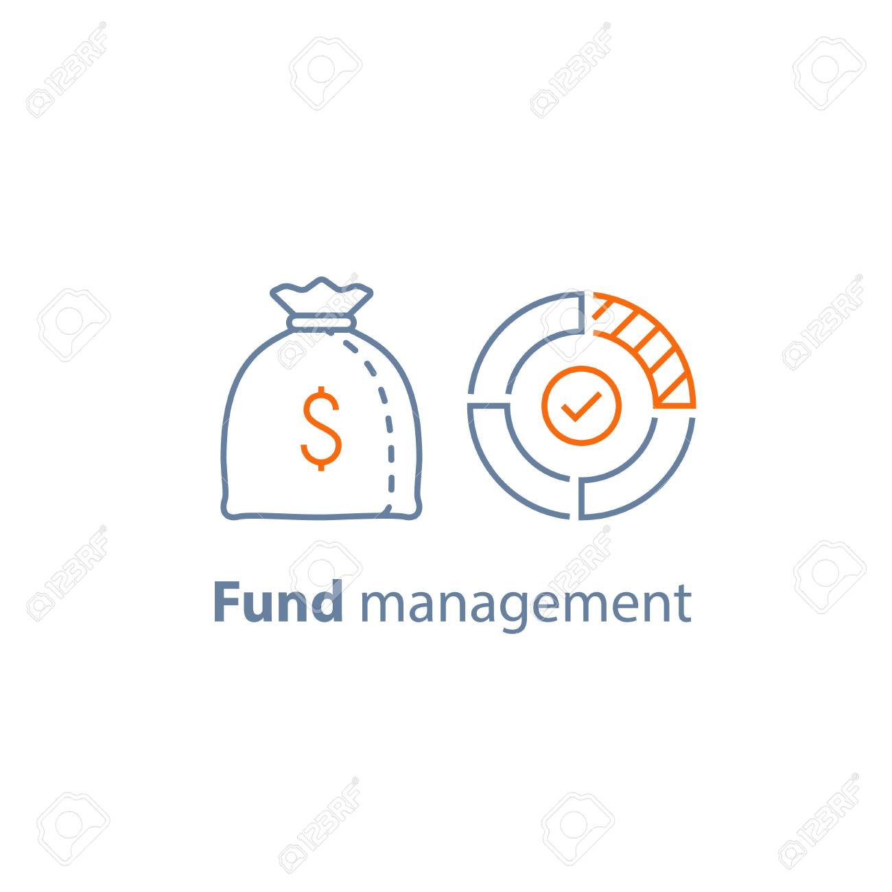 Mutual Fund Management Long Term Investment Financial Strategy