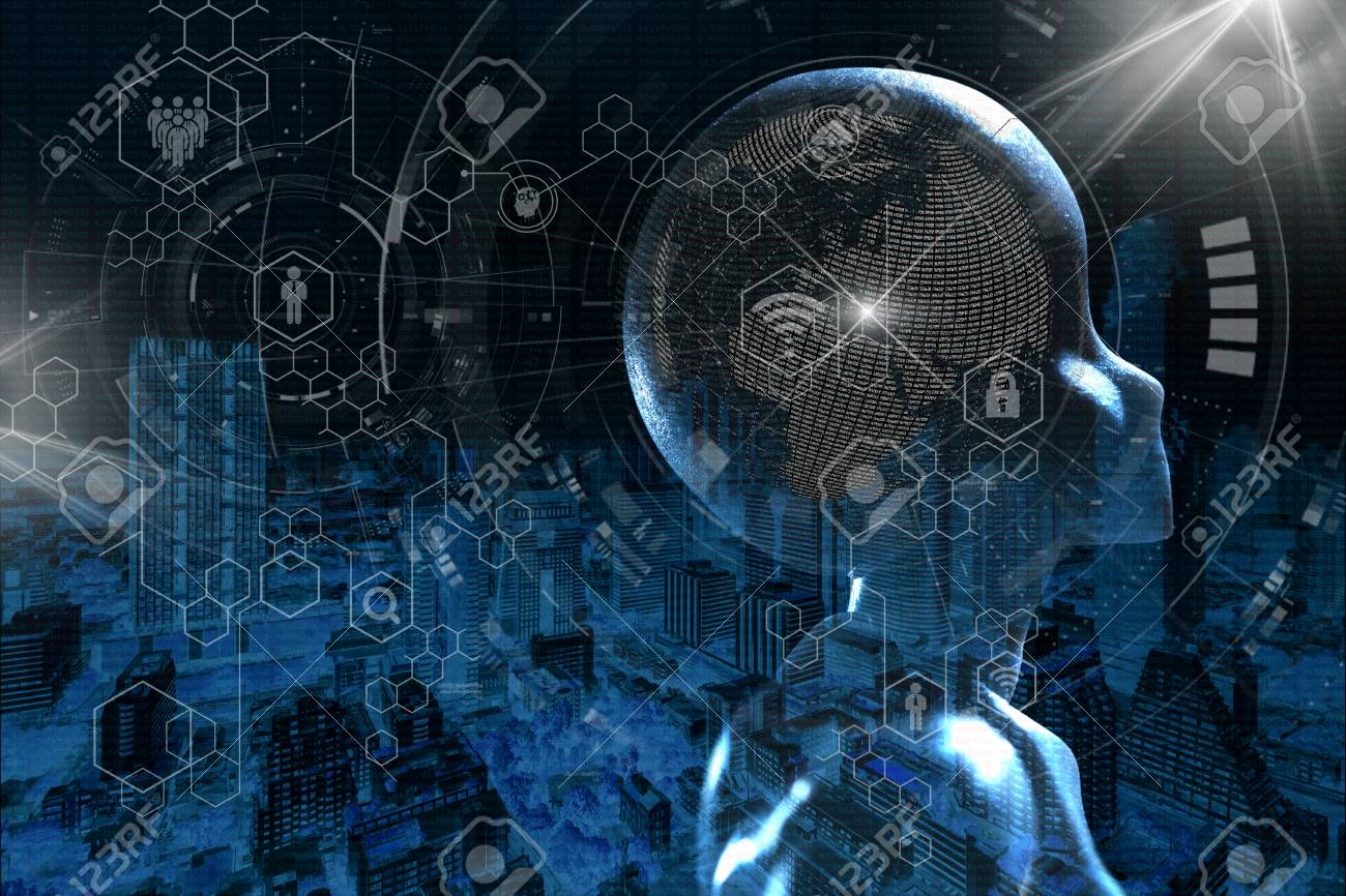 AI, Artificial intelligence conceptual of next generation technology - 106515698