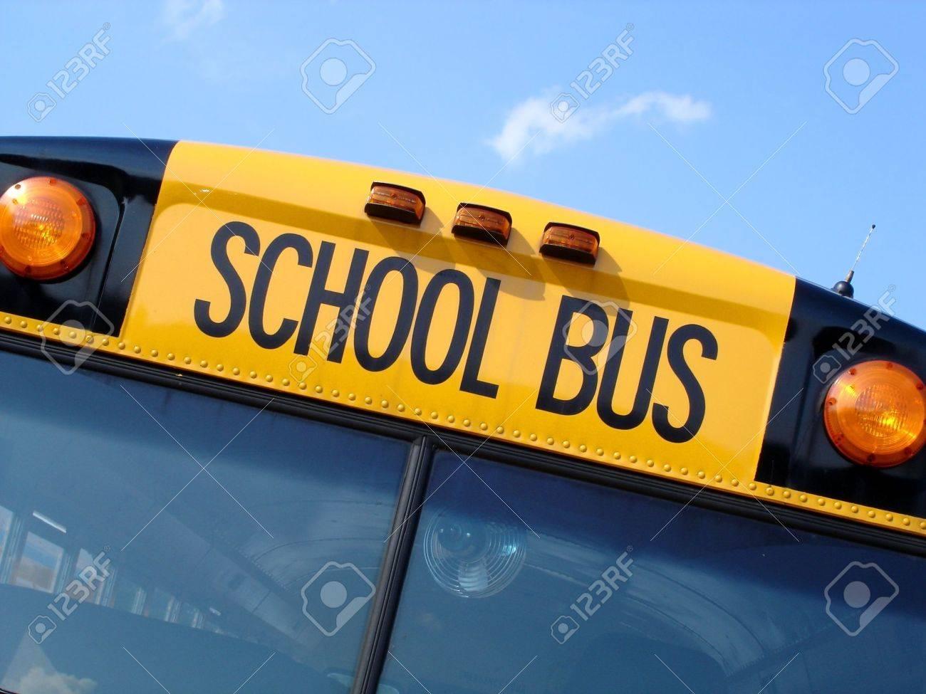 School Bus Top Stock Photo - 3556220