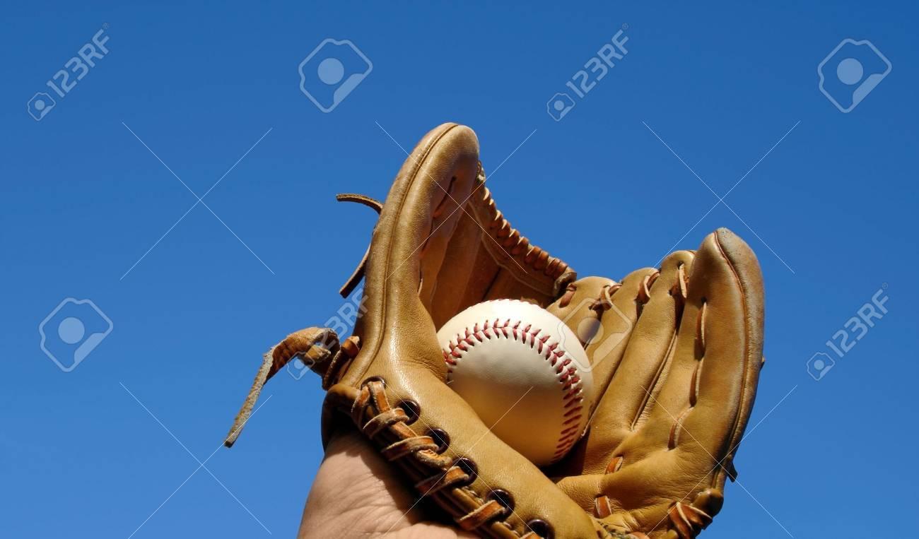 Baseball Catch Landscape Stock Photo - 3657530