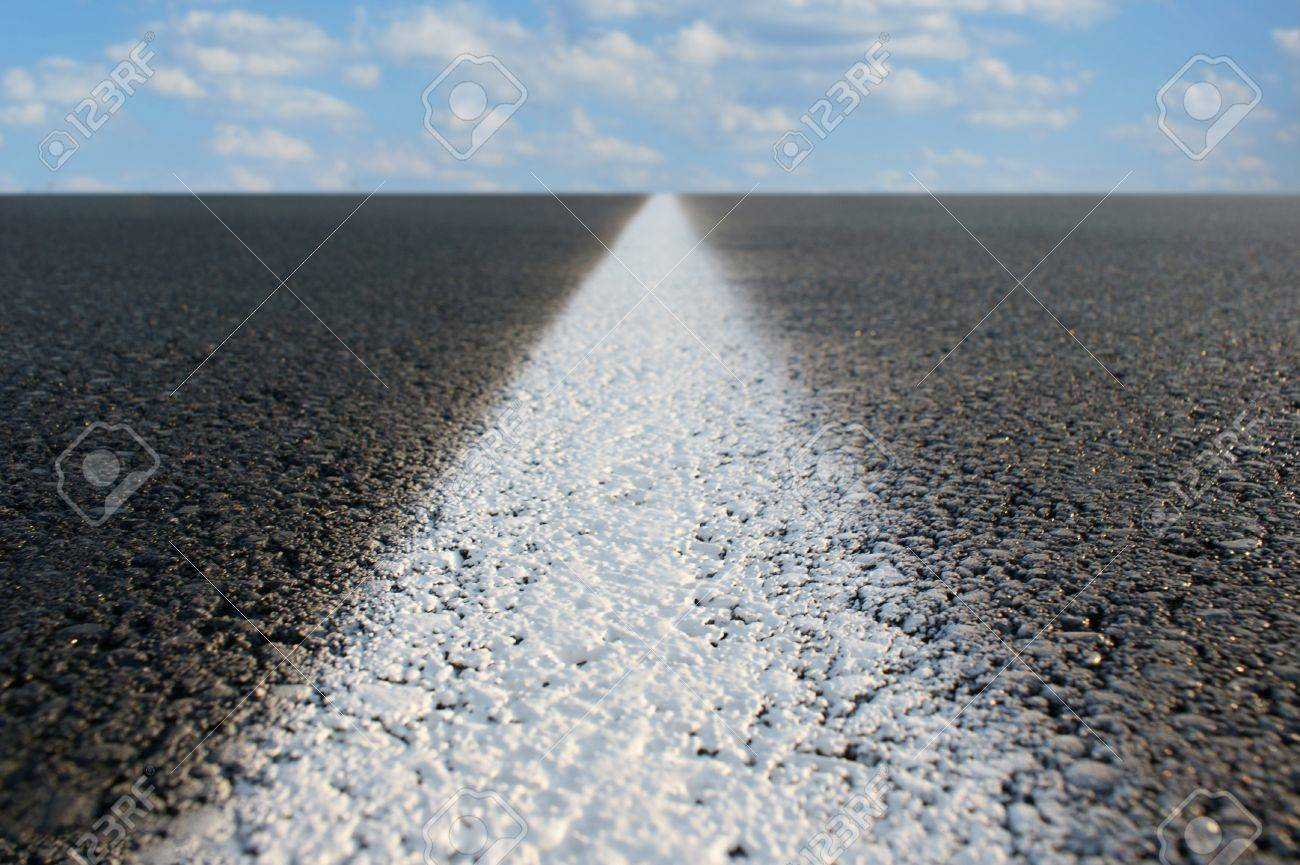 Abstract view of a road stretching off to infinity. Stock Photo - 8952164