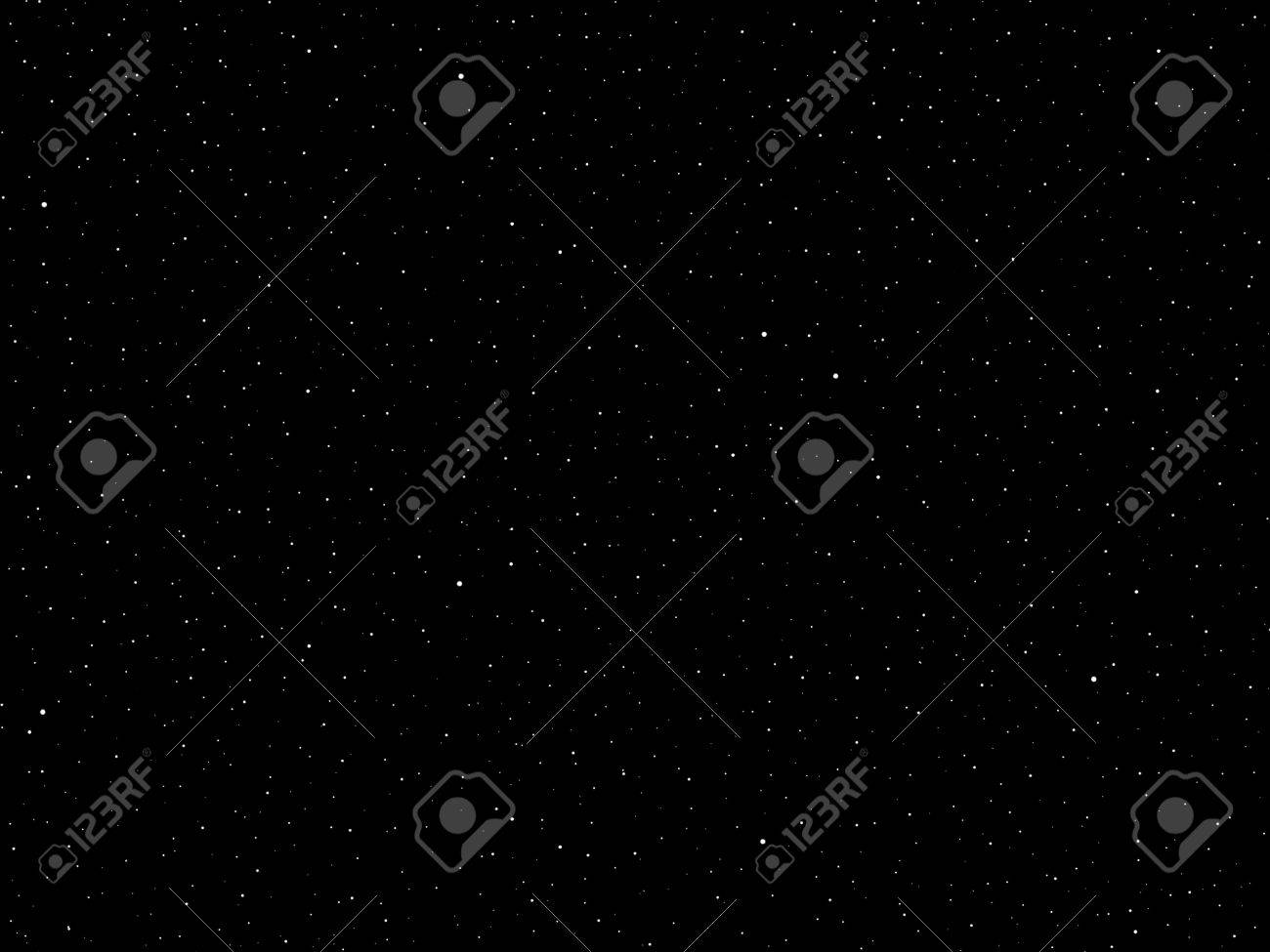 View of a field of stars in a fantasy galaxy. Stock Photo - 10775824