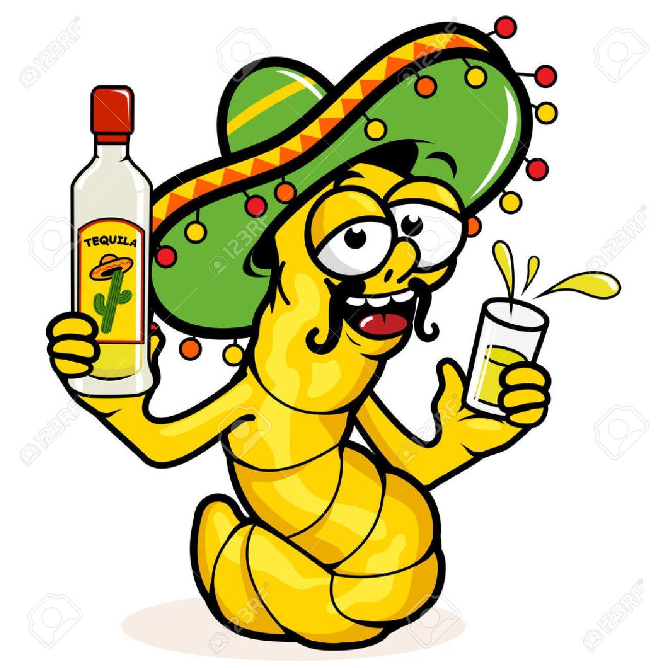 Drunk Tequila worm - 42915164