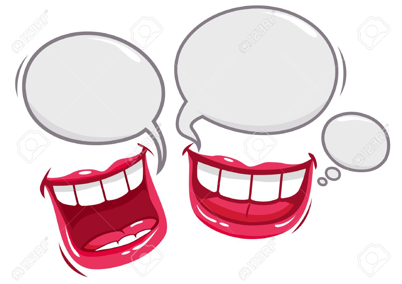 two mouths talking and laughing royalty free cliparts vectors and rh 123rf com Cartoon Mouth Clip Art Cartoon Mouth Clip Art