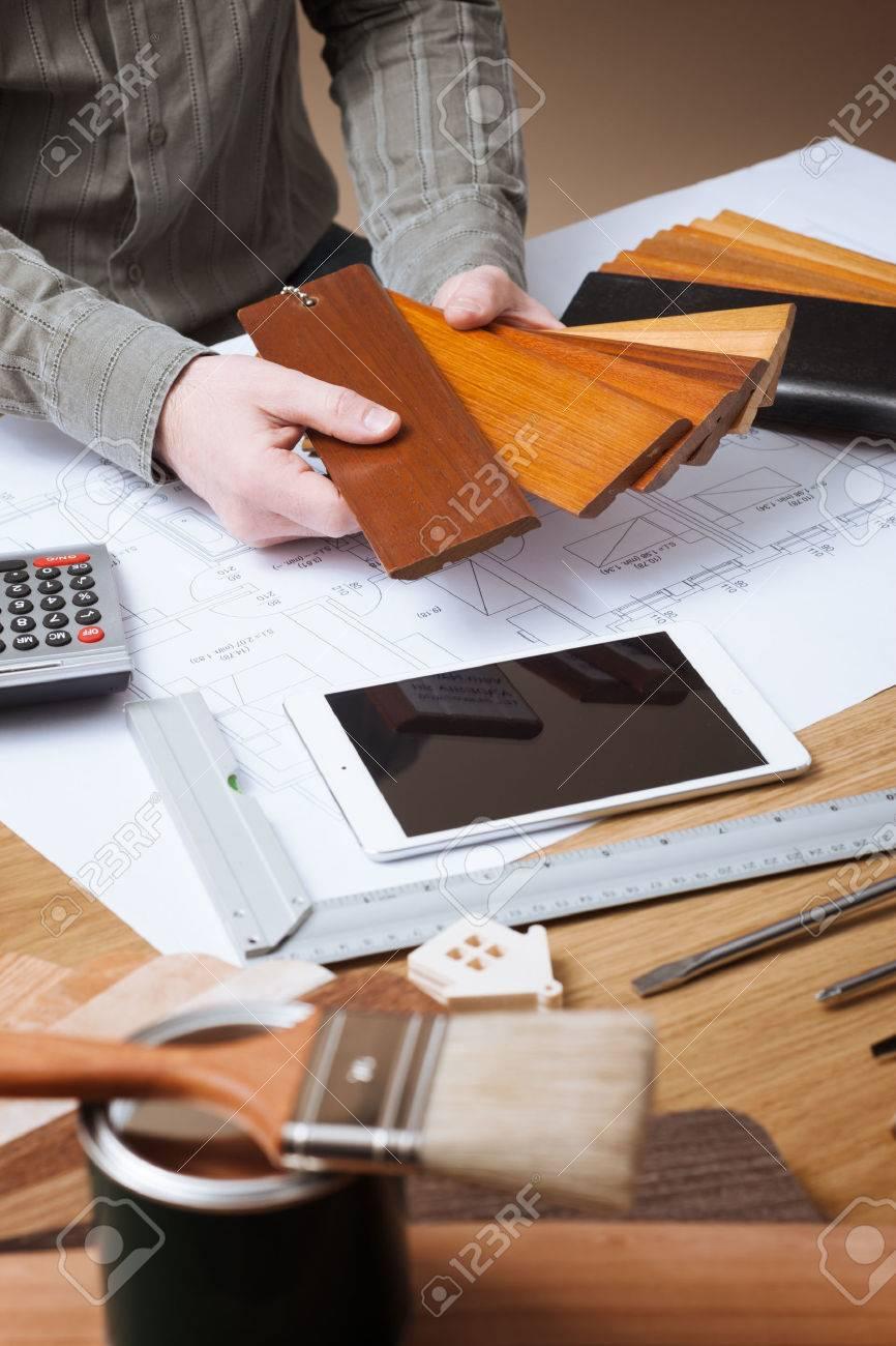 Professionelle Innenarchitekten Holz Muster Für Fußleiste Und Sockel ...