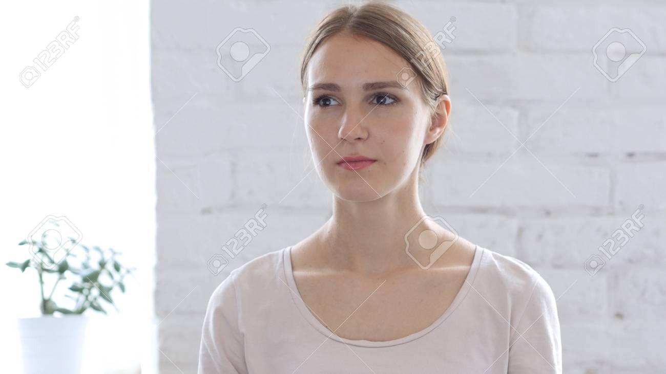 Portrait of Beautiful Woman - 87610914