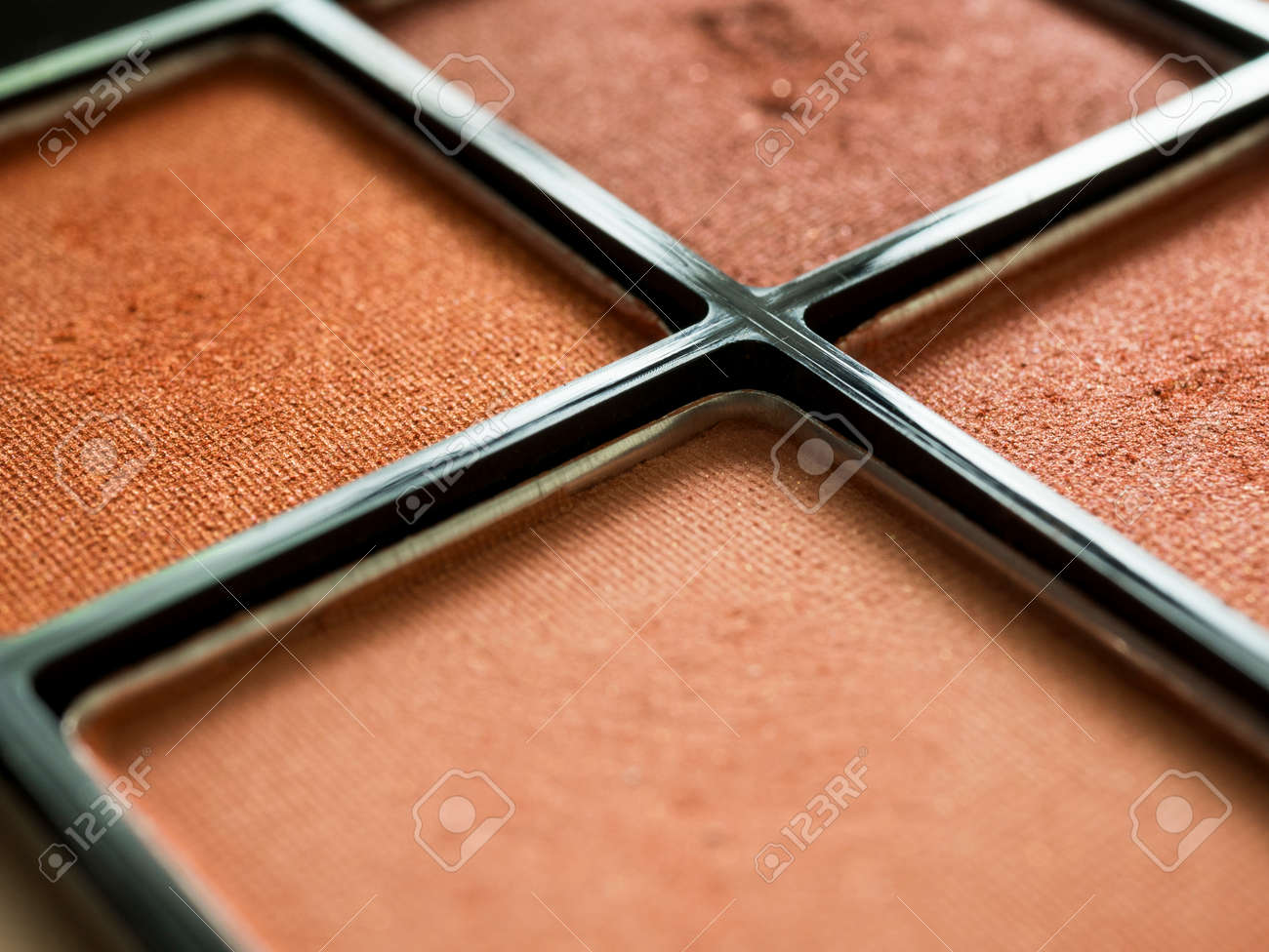 Close up of eye shadow in palette. - 170462132