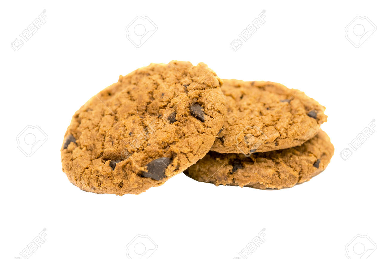 Cookies isolated on white background. - 171471696