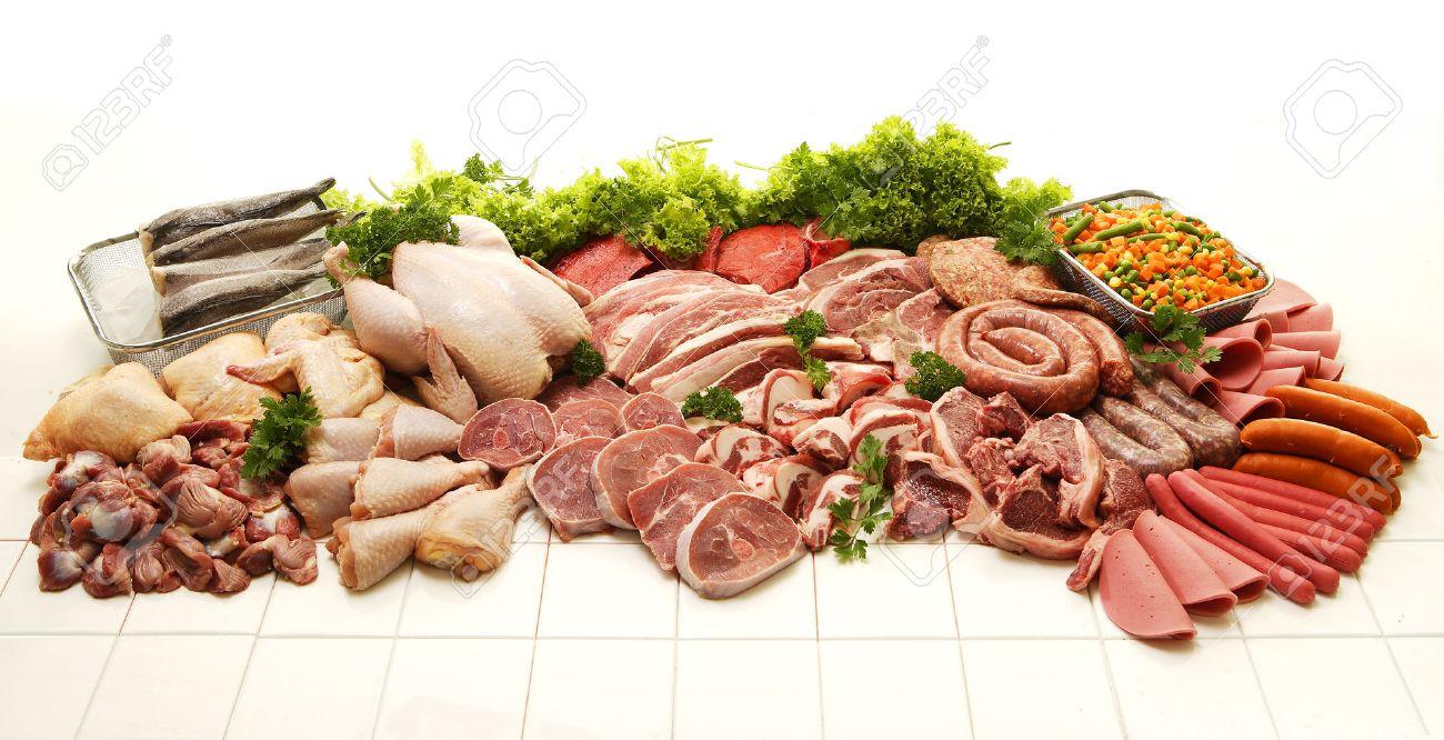 Charcuterie viande poisson
