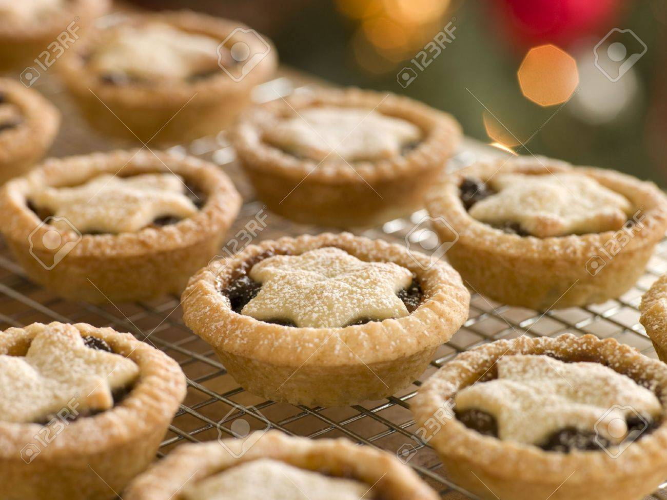 Mince Pies on a Cooling rack - 3602888