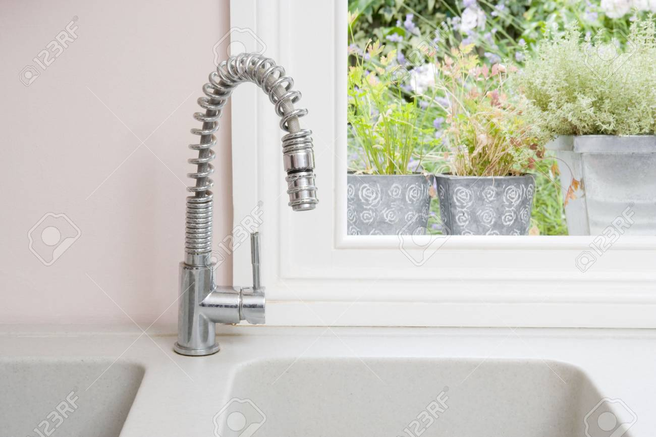 Kitchen sink Stock Photo - 3483131