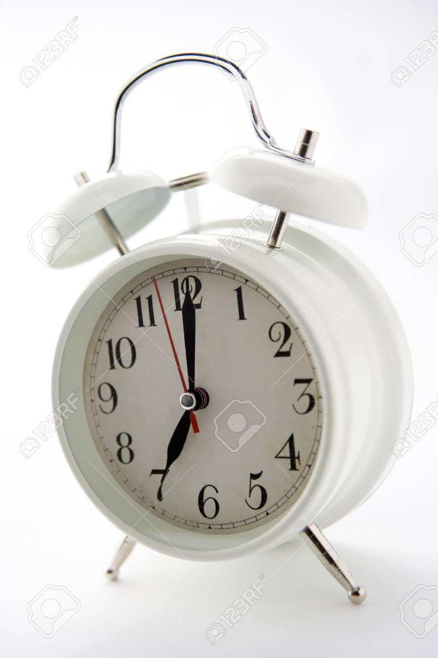 Old-Fashioned Alarm Clock Stock Photo - 3722872