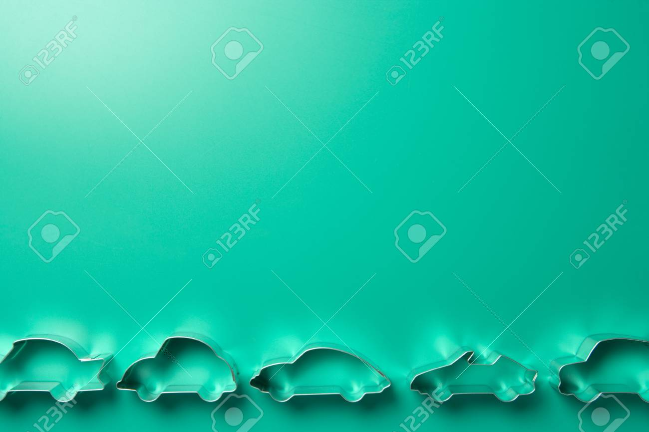 Car-Shaped Cookie Cutters Stock Photo - 3723085