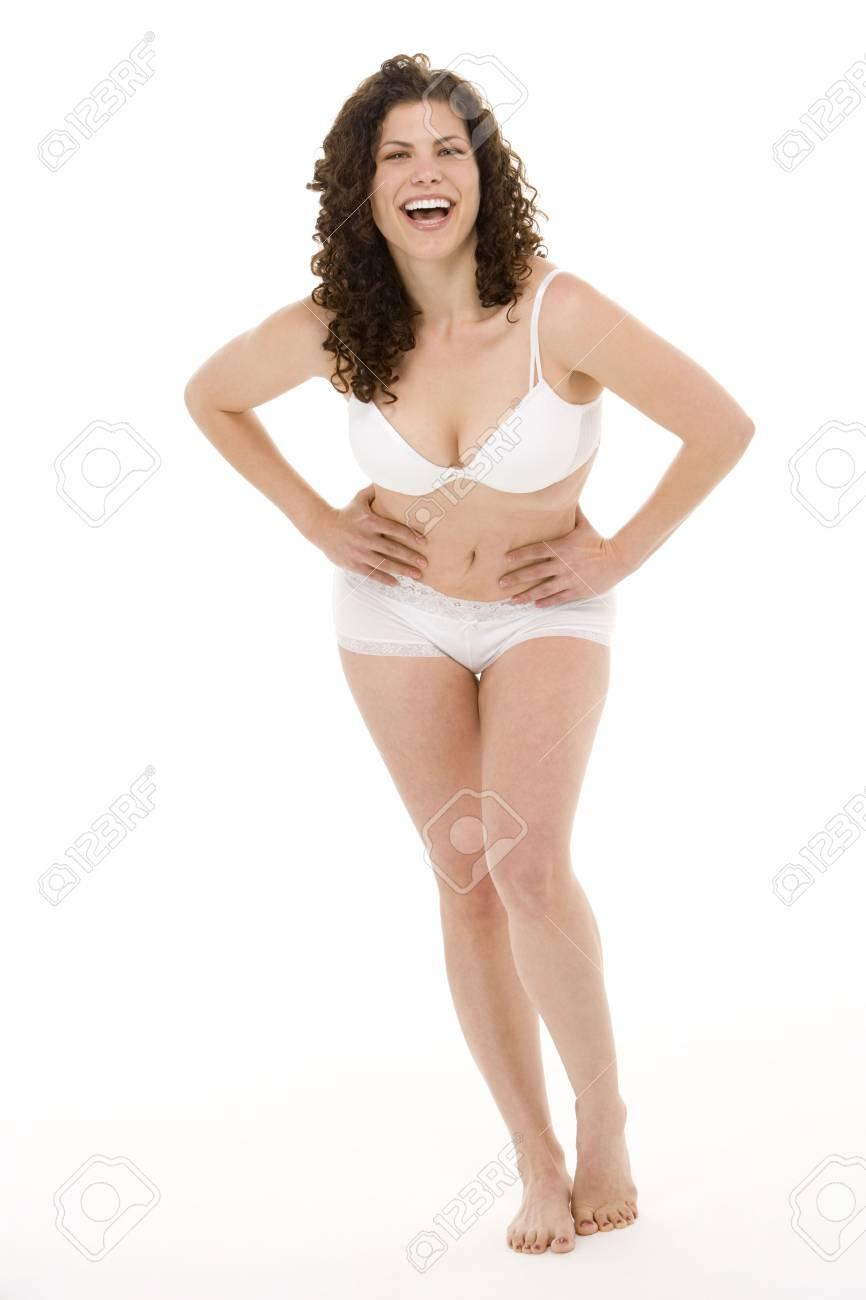 Portrait Of Woman In Her Underwear Stock Photo - 4605866