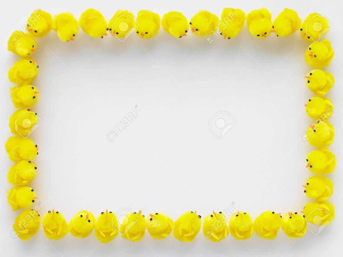 easter standing in a square stock photo picture and