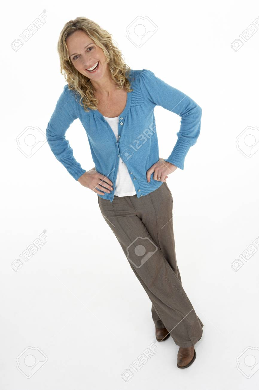 Portrait Of Middle Aged Woman Stock Photo - 5515718