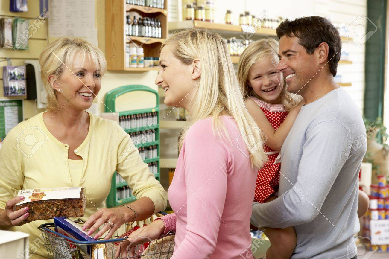 female s assistant in health food store stock photo picture female s assistant in health food store stock photo 5633646