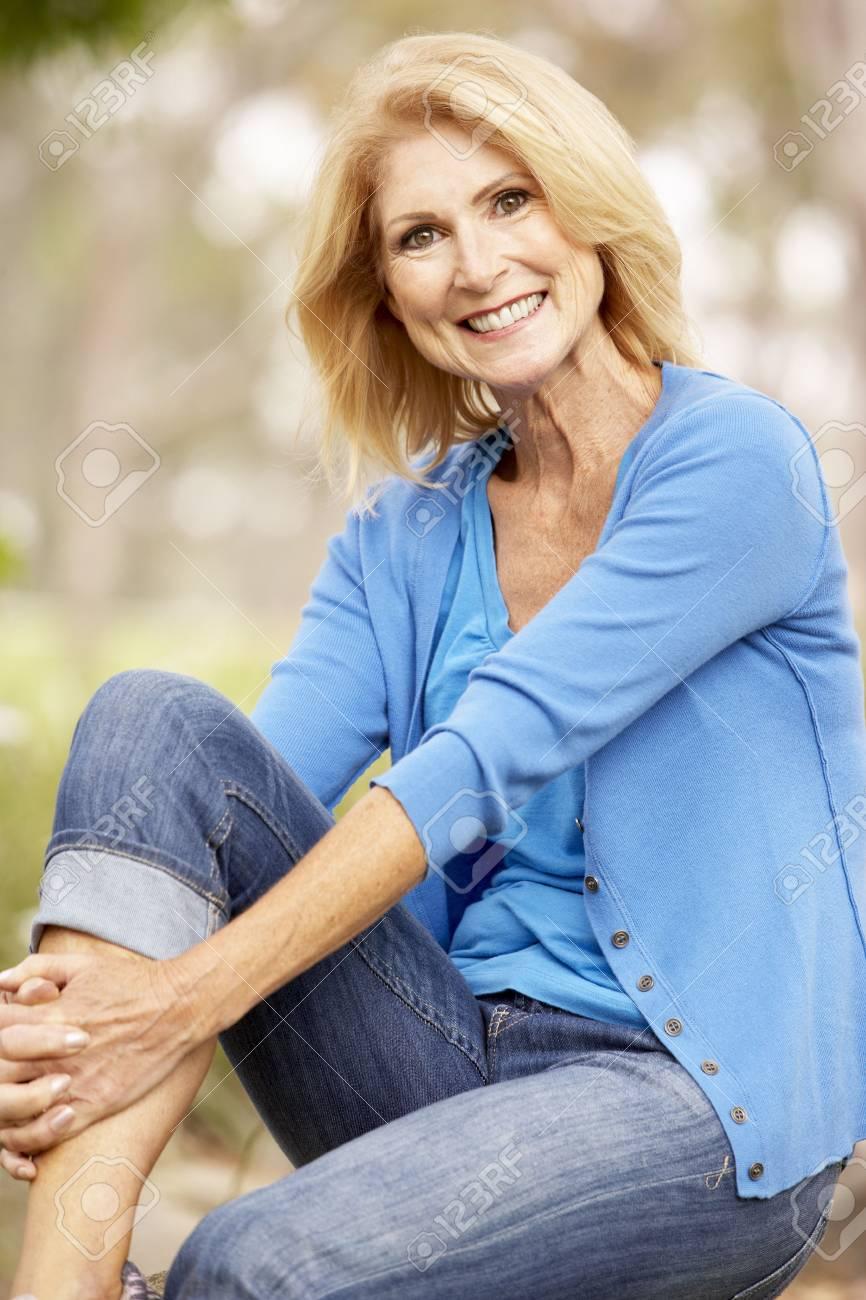 Portrait Of Senior Woman Stock Photo - 6143402