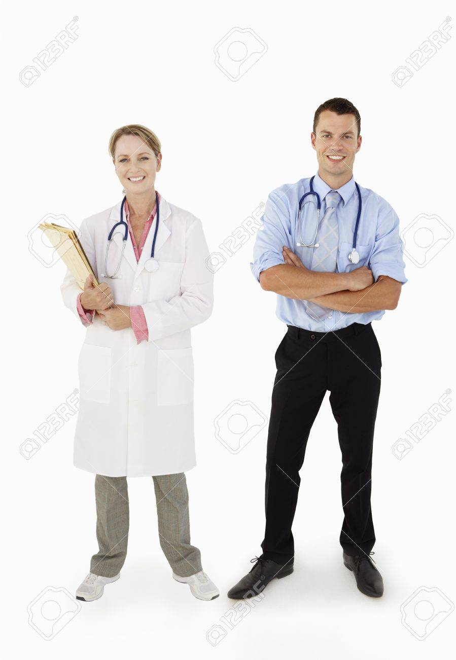 Portrait Of Medical Staff In Studio Stock Photo - 11210650