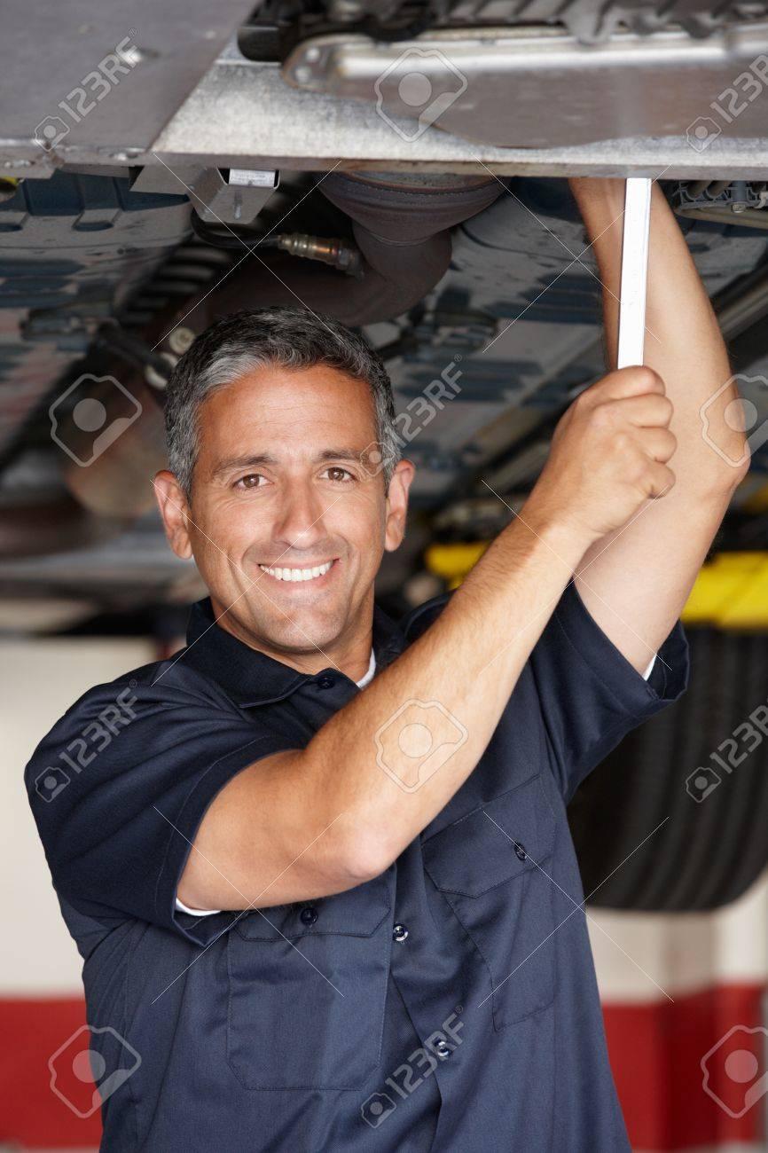 Mechanic at work Stock Photo - 11217940