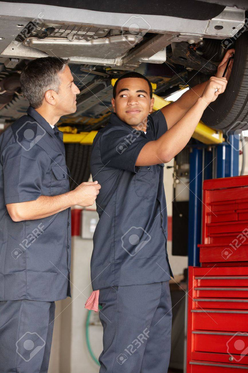 Mechanics at work Stock Photo - 11218010