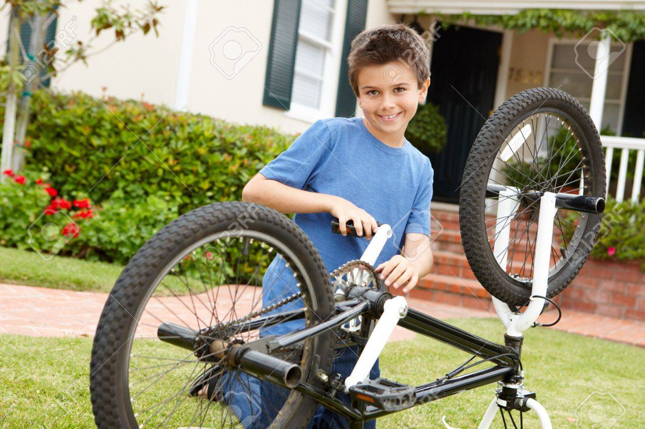 Fixung the bike