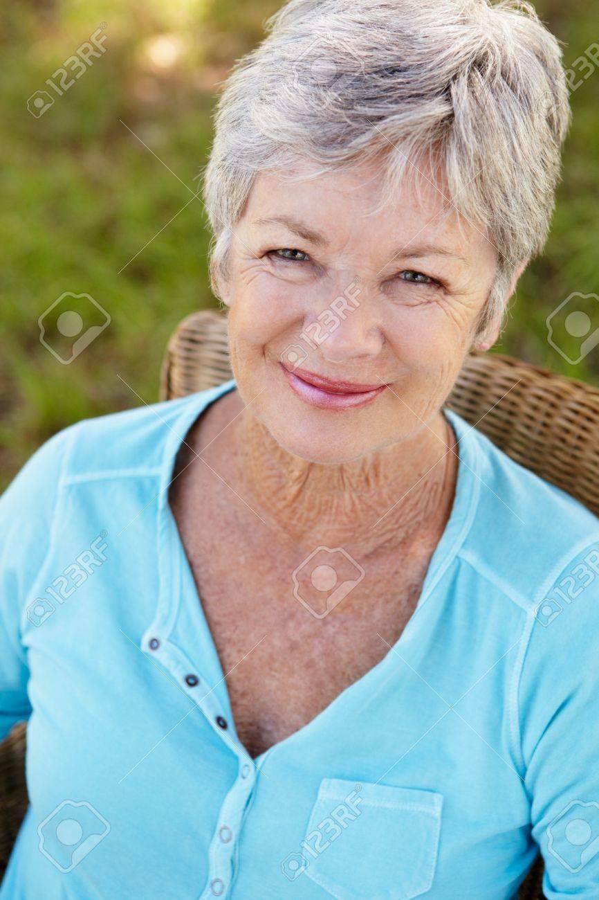Portrait of senior woman Stock Photo - 11239082