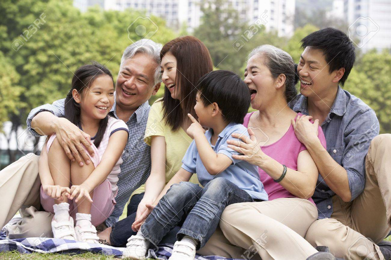 Resultado de imagem para familia na china