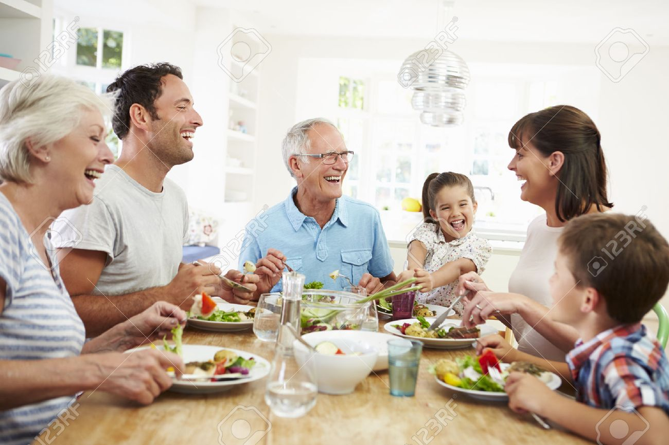 Eating Table Around Table Stock Photos Royalty Free Around Table Images And