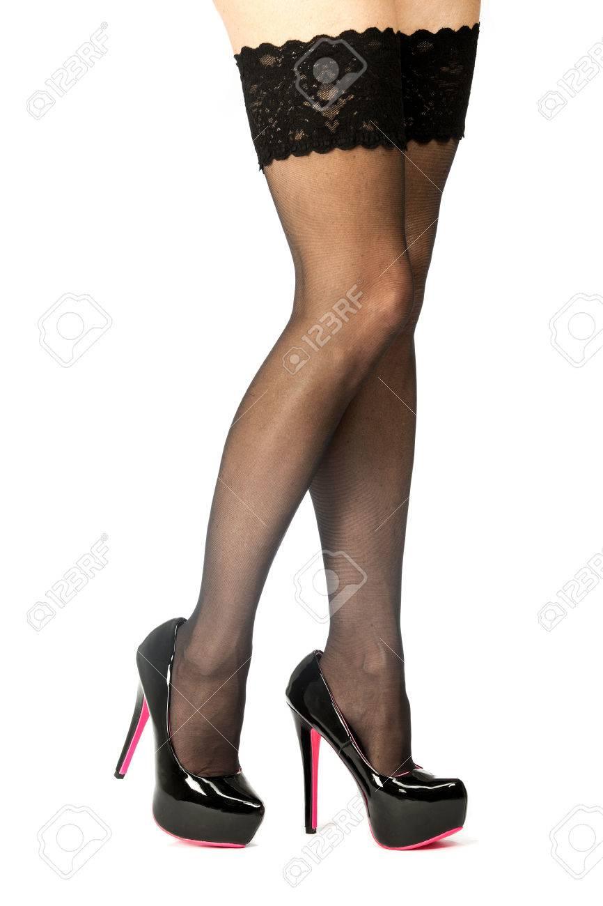 High Heels Stockings Pov
