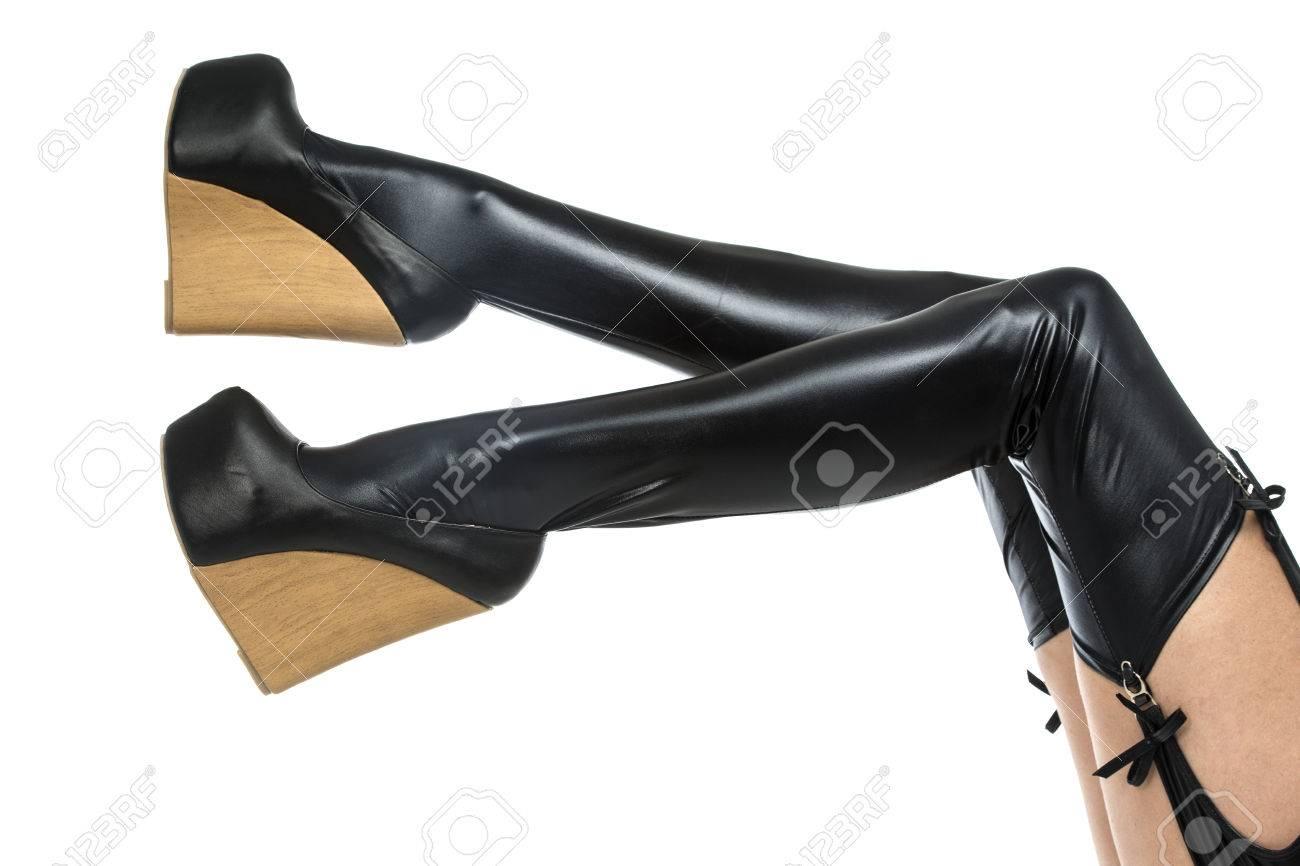 Shoes fetish woman