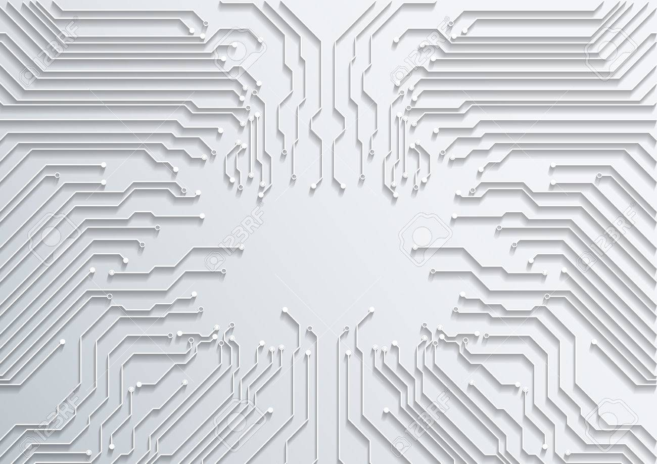 Abstract Technology Background Circuit Board Texture Vector Royalty ...