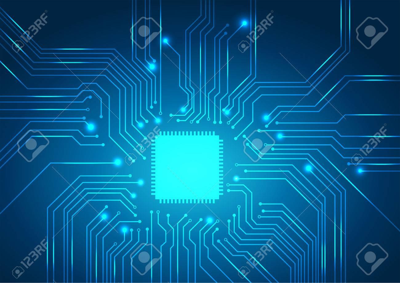 Circuit Board Background Texture.vector Royalty Free Cliparts ...