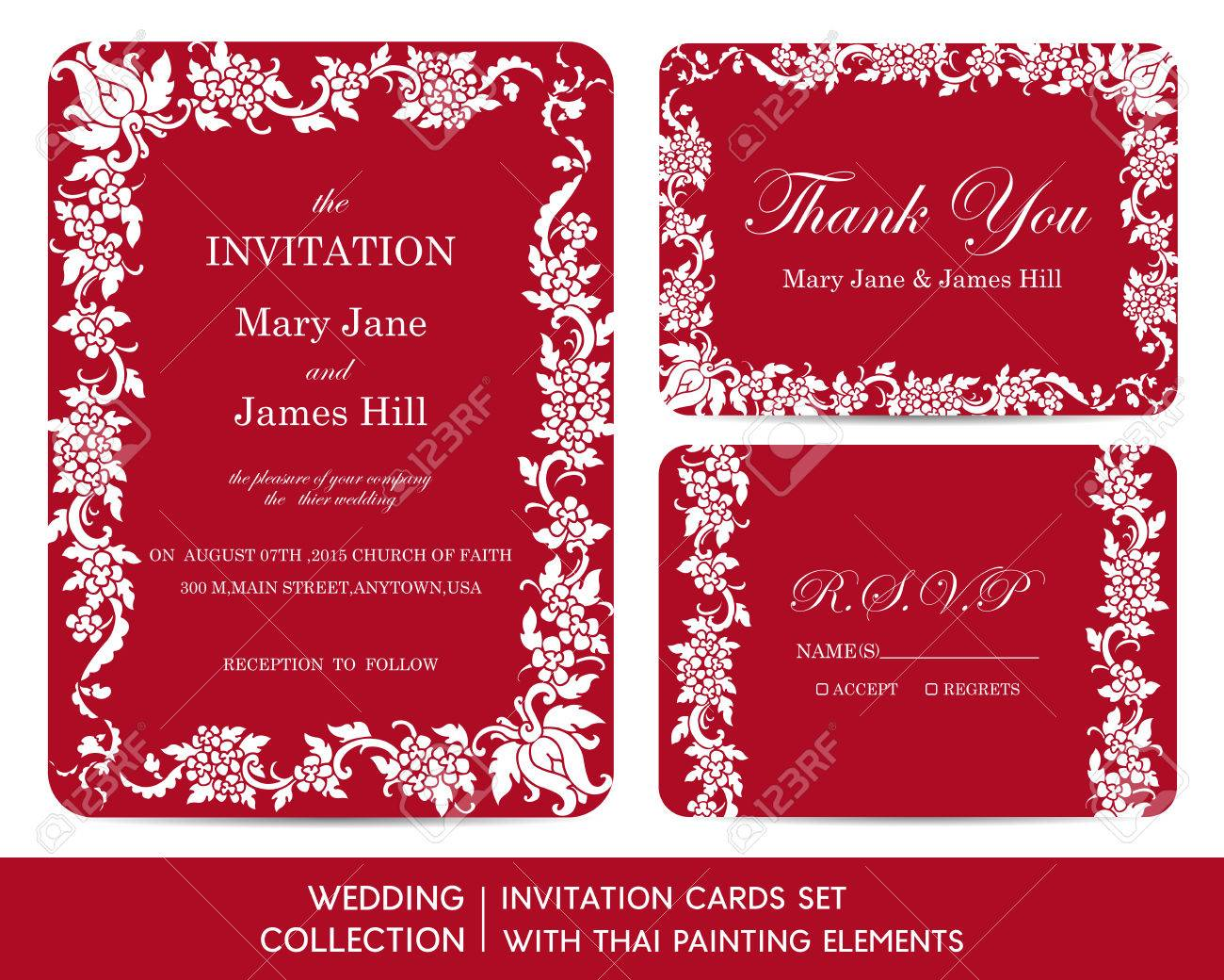 Magnificent Tri Fold Pocket Wedding Invitations Collection ...