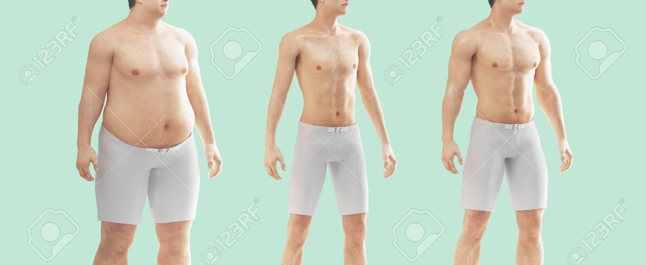obeso a delgado antes y después