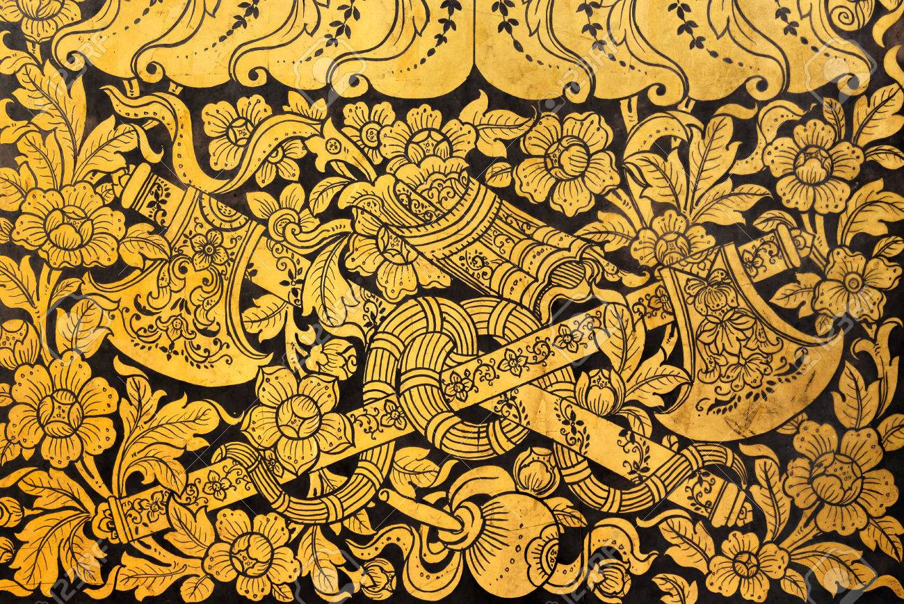 Perfect Thai Wall Decor Crest - The Wall Art Decorations ...