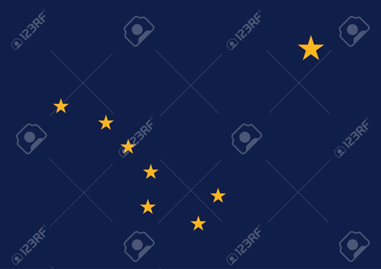 official flag of alaska. - 74223200