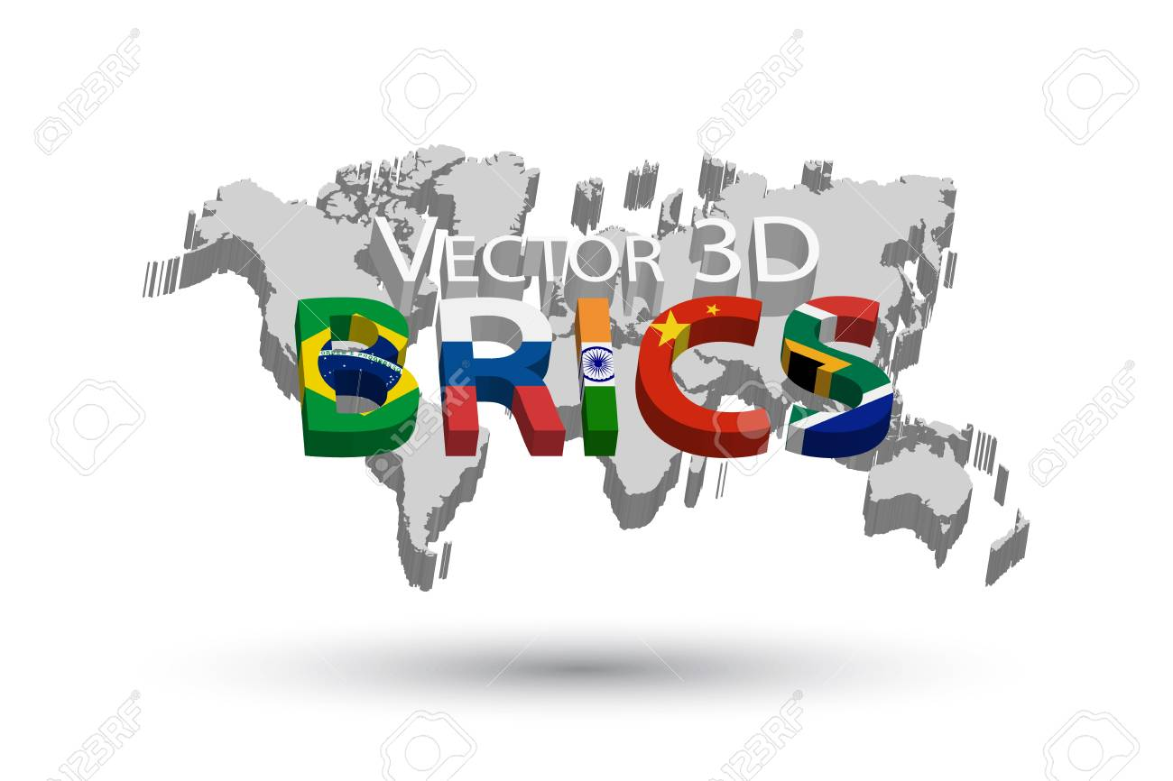 Brics and 3d world map association of 5 countries brazil brics and 3d world map association of 5 countries brazil russia india gumiabroncs Gallery