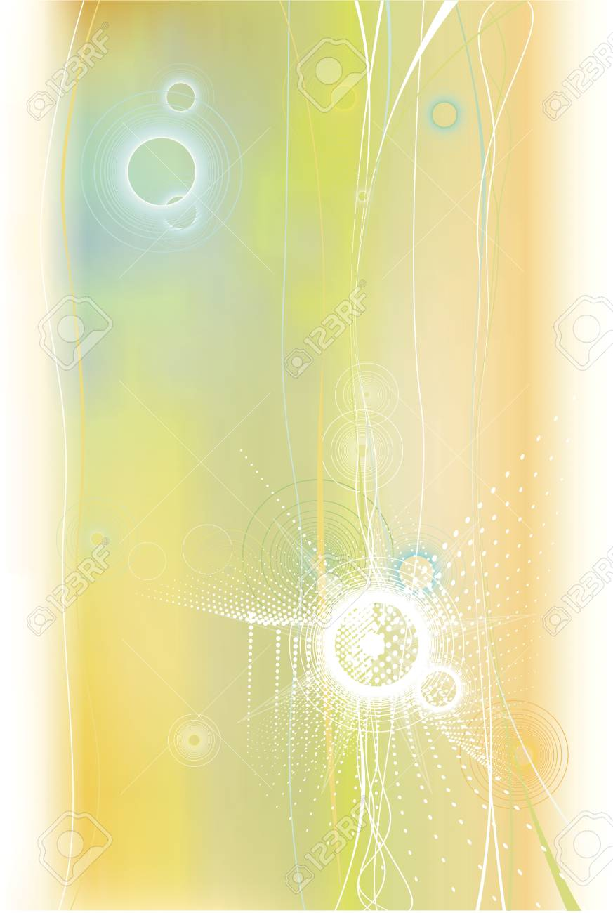 abstract background in orange color Stock Vector - 13921485